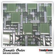 Green Backsplash Tile