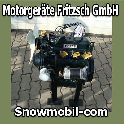 Diesel Motor Kubota D1105 28,0 PS 1123 ccm gebraucht  - Kubota Diesel Motor