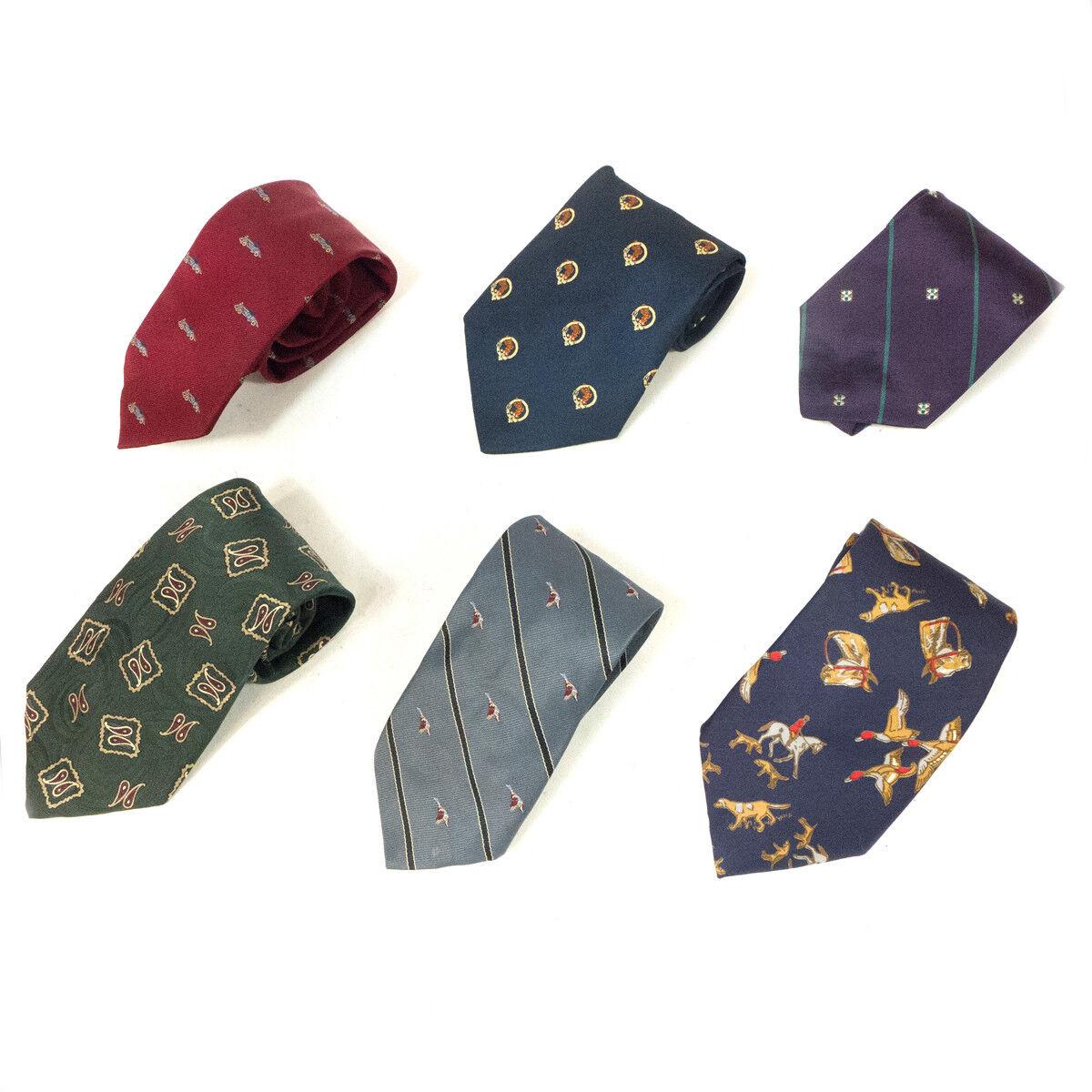 Soprano azul y de p/ájaro Partridge pa/ís Woven Silk Tie