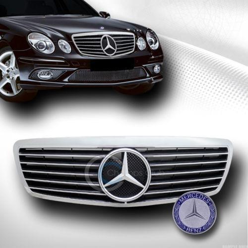 Mercedes w211 front grill ebay for Mercedes benz custom grills