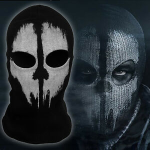Novel Balaclava Ghost Skull Bike Motorcycle Helmet Hood Ski Sport Neck Face Mask
