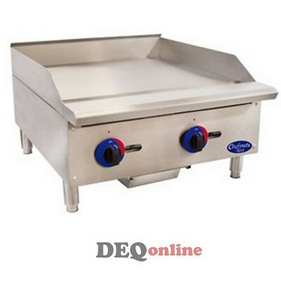 Globe C24GG Chefmate Series Gas Griddle w/ Manual Controls