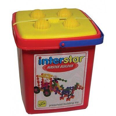 Interstar Master Builder Construction Set 70 pc Preschool Building Motor Skills