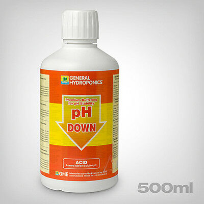 GHE pH-Down pH-Korrekturlösung, 500ml