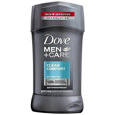 Dove Men+Care Antiperspirant Deodorant Stick Clean Comfort 2.7 oz