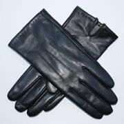 Silk Lined Leather Gloves