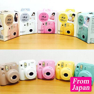 Instant Camera Cheki Instax Mini 8 Plus 5 Color Japan