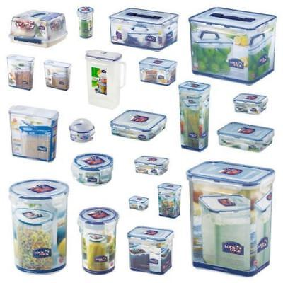 Lock and & Lock Plastic Food Storage Air Tight Containers Cake Lunch Box Cereal