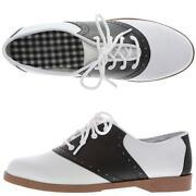 Womens Saddle Shoes