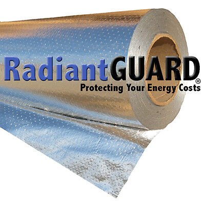 4 Ft By 4 Ft Radiant Barrier Sample Radiantguard Ultima-foil Reflectivity 97