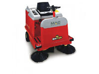New MAC Floormaster SW70R Ride On Industrial Floor Sweeper (Battery/Petrol Powered)