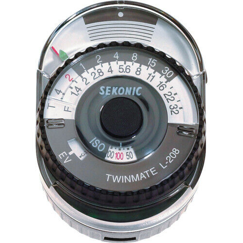 Sekonic L-208 TWINMATE Analog Light Meter - photography equipment