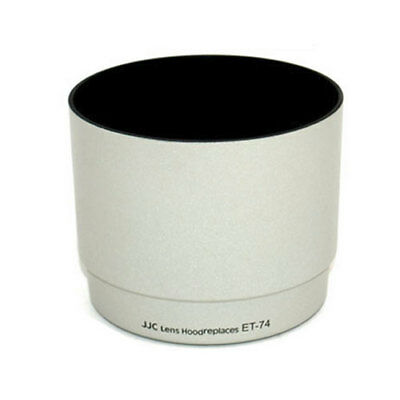 LH-74 White Lens Hood Fr CANON EF 70-200mm f 4 L IS USM & Non IS REP ET-74 shade