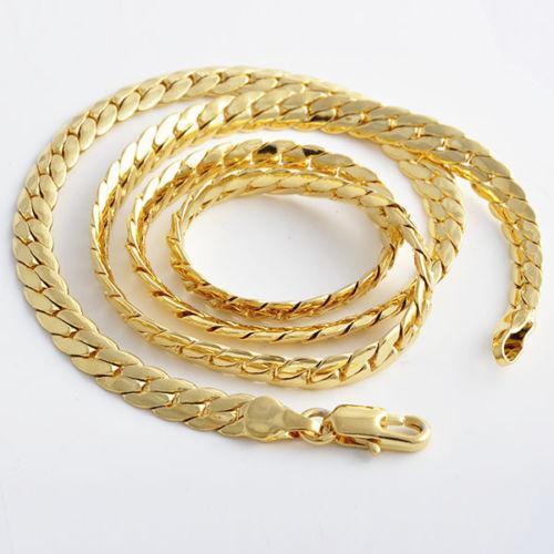 fde434f7e6c34c Mens 10K Gold Necklace | eBay