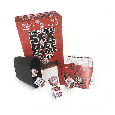 The Best Sex Dice Game Ever Adult Game Bedroom Game Sex Dice for Couples