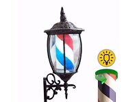 Free UK Shipping Classic Lanturn Barber Pole Shop Sign