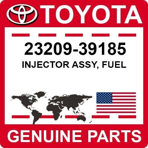 23209-39185 Toyota Oem Genuine Injector Assy, Fuel