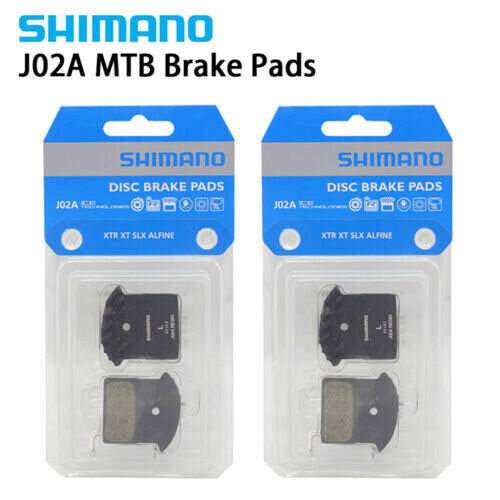 Shimano J02A Resin Cooling Fin Ice Tech Disc Brake Pads For SLX Deore XT XTR US