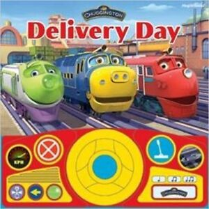 Chuggington - Delivery Day - Steering Wheel Book (Board book)