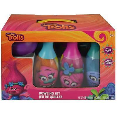 Dreamworks Trolls Bowling Set Gift Toy For Kids - Trolls Dreamworks