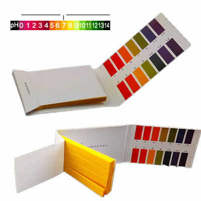 160 pH Indicator Test Strips 1-14 Paper Litmus Tester Paper Water Litmu Soil (Ph Indicator Lab)