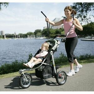 Love Handles - Elliptical trainer stroller attachment