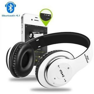 BLUETOOTH WIRELESS FOLDABLE HEADPHONES - NEW