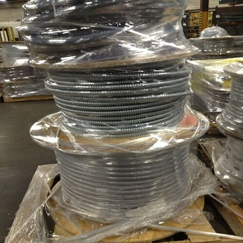 250 14 4 Wg Metal Clad Cable Aluminum Armor Solid Mc Wire