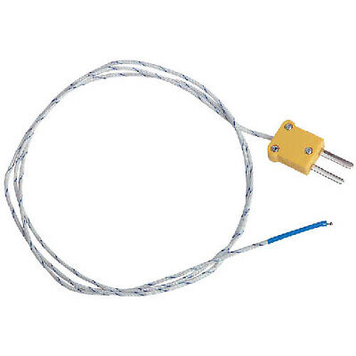 Extech TP870 Bead Wire Type K Temperature Probe (-40 to 482F) Mini connector
