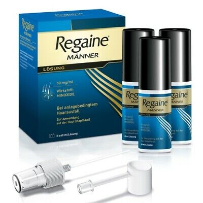 REGAINE Maenner Loesung 3X60 ml PZN: 3671166