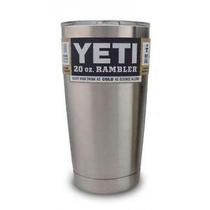 Yeti Cup Prices >> Yeti Rambler Travel Tumbler Stainless Steel 20 Oz 20oz For Sale