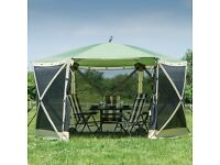 Quest Pop-Up Gazebo 6 Sided - Green