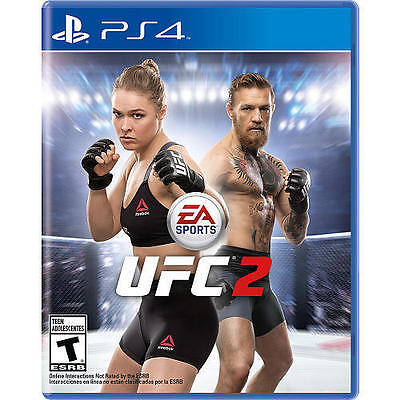 PS4 UFC 2 Ultimate Fighter NEW Sealed REGION FREE USA RHONDA ROUSEY for sale  Shipping to Nigeria