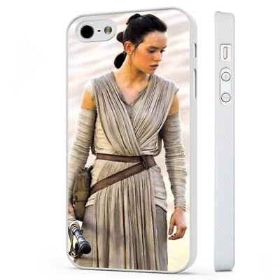 Rey Star Wars Force Awakens WHITE PHONE CASE COVER fits iPHONE