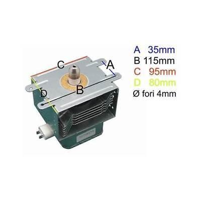 Magnetron for Microwave Oven Delonghi Samsung OM75P Whirlpool Smeg AEG