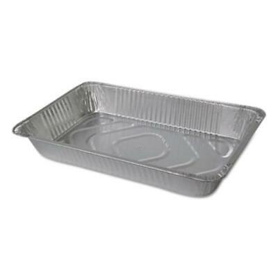 Durable Packaging 6050-50 Aluminum Steam Table Pans Full Size Deep 55 Gauge