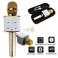 Micrófono Inalámbrico Megáfono Speaker Bluetooth Portátil Karaoke Recargable 7 -  - ebay.es