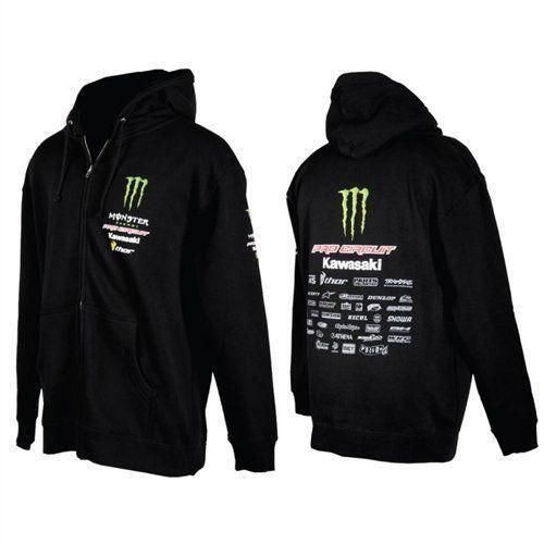 monster energy zip hoodie ebay. Black Bedroom Furniture Sets. Home Design Ideas