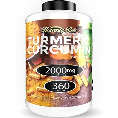 Turmeric Curcumin 2000mg High Absorption Extra Strength Vega