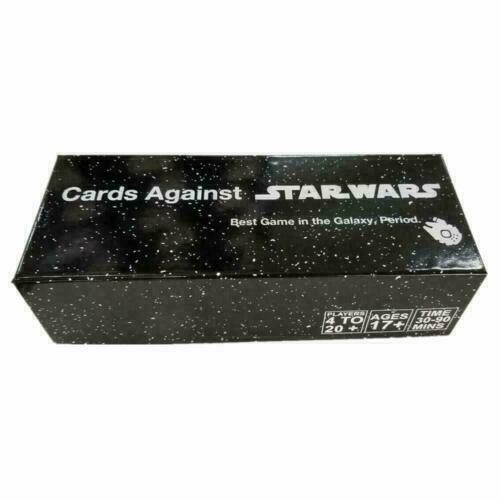 New Sealed Cards Games Against Star Wars, The Greatest Game in The Galaxy Period