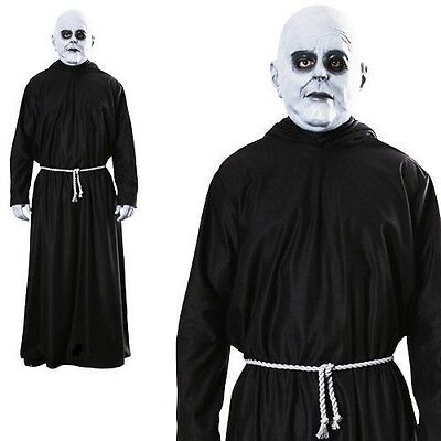 Men's Uncle Fester Addams Family Halloween Dressing up costume adults party set](Fester Addams Costume)