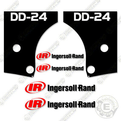 Ingersoll Rand Dd-24 Decal Kit Asphalt Compactor Replacement Stickers Dd24