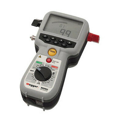 Megger Bd-59092 Mom2 Micro-ohmmeter With Kelvin Clamps 240 A