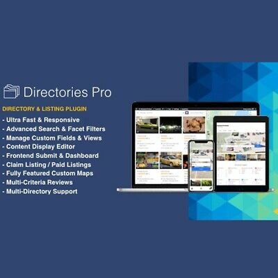 Directories Pro Best Directory Listing Wordpress Plugin Lastest Version