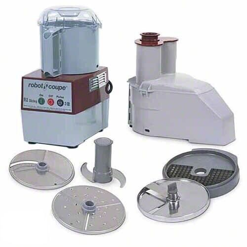 Robot Coupe R2 Dice Commercial Food Processor, 3 Quart, Stainless Steel