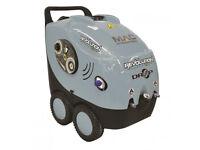 New MAC International Drop Revolution 240V 120 Bar Hot/Cold Industrial High Pressure/Power Washer
