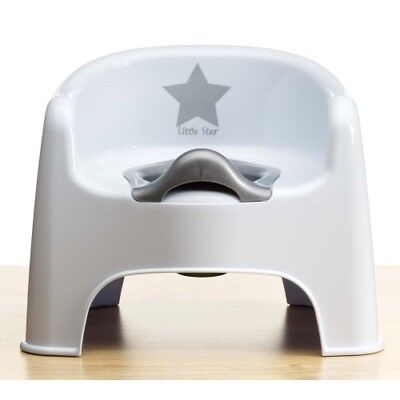 (Strata Deluxe Potty Training Chair Silver Lining Little Star Toddler Toilet)