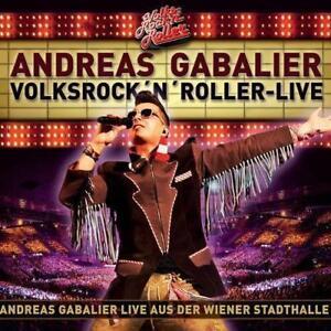 ANDREAS GABALIER  Volksrock´n´Roller  Live   2 CD  NEU & OVP