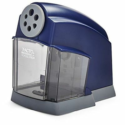X-acto Schoolpro Classroom Electric Pencil Sharpener Heavy Duty Bluegrey