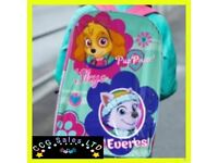 Official Paw Patrol Skye And Everest Character Ex-Large School Backpack